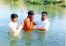 baptism by Francis