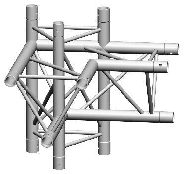 Mobil Truss TRIO DECO A31104L Angle Structure Aluminium