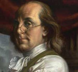Benjamin Franklins tretten dyder