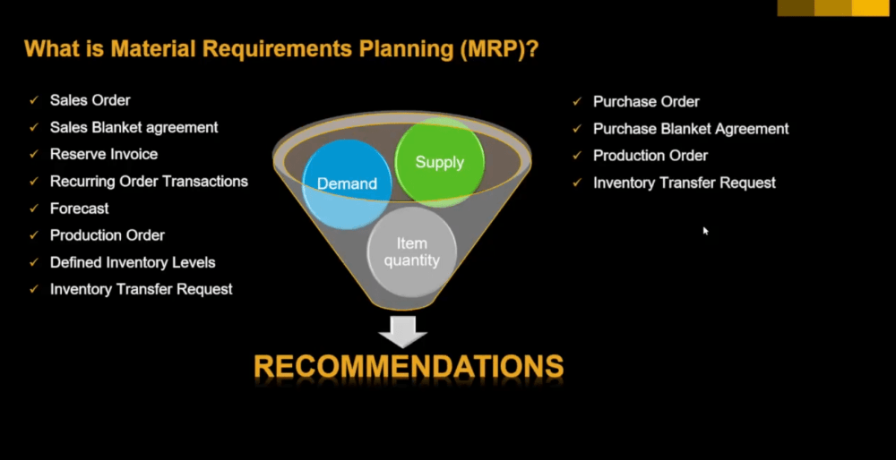 medium resolution of what is mrp material requirements planning in sap business one