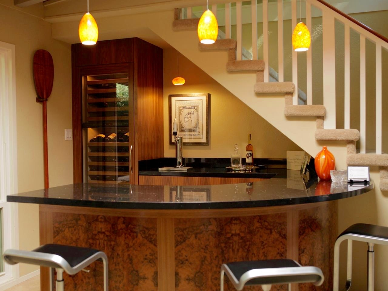 Entertain In Style Luxurious Home Bar Designs Leverage | Bar Counter Design Under Stairs