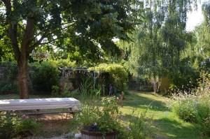 Jardin chambre d'hôtes