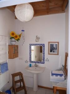 Salle de bains chambre d'hôtes
