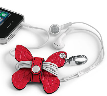 Pocquettes Butterfly Earbud Holder - Earbud Holder
