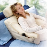 BedLounge Pillow with Slipcover - Pillow, Cushion - Levenger