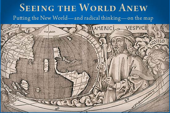 Image result for martin waldseemuller's map seeing the world anew