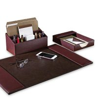 Leather Desk Accessories - newlibrarygood.com