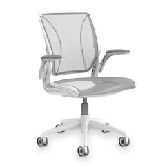 Humanscale Diffrient World Chair White Beach With Backpack Straps - Levenger