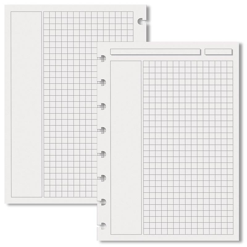 Special Request™ Annotation Grid (100 sheets), Circa® A5