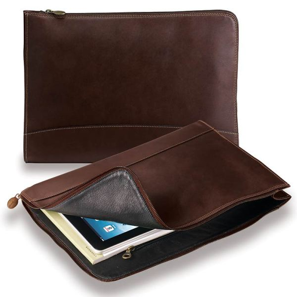 Leather Portfolio Briefcases Men