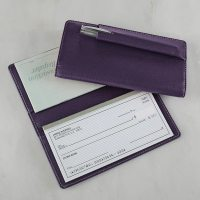 Carisma Pennington Checkbook Cover - Leather Checkbook ...