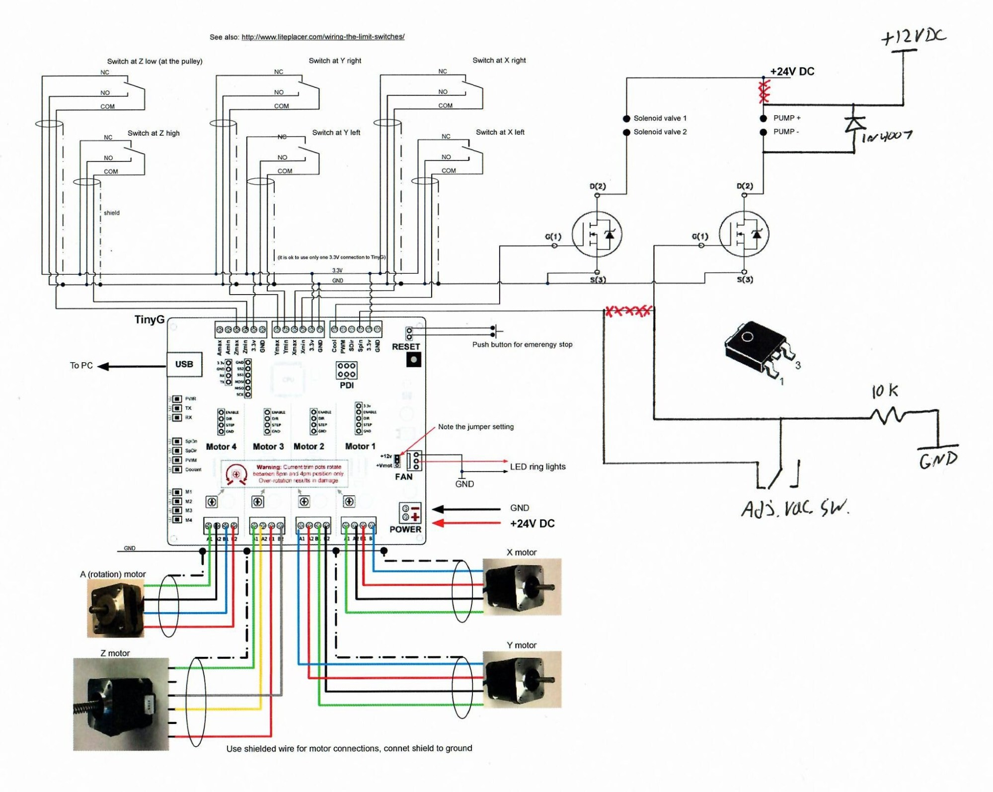 hight resolution of the vacuum configuration i m going to run will include a reservoir and an adjustable vacuum switch to power the pump only when needed