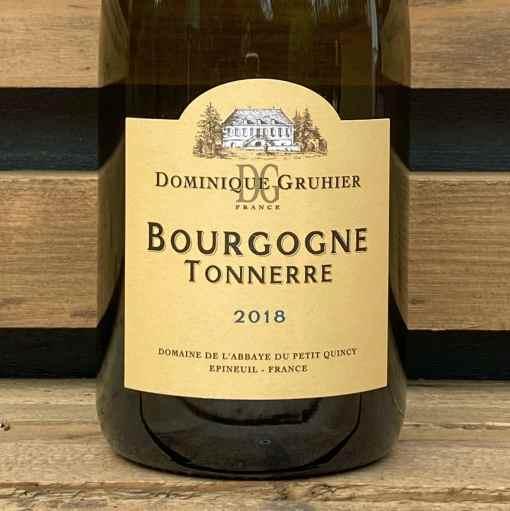 Bourgogne TONNERRE CHARDONNAY domaine Dominique Gruhier
