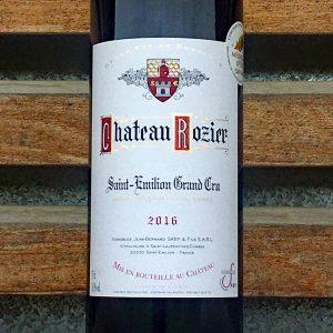 Château Rozier - Bordeaux Sait-Emilion Grand Cru