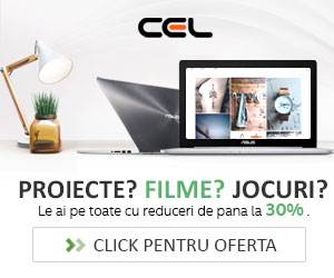 Super oferte la laptopuri! Descopera reducerile de 30%! (De La cel.ro)