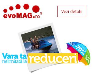 Campanie speciala de vara cu prometii si reduceri la evoMAG