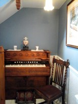 You're welcome to play the harmonium