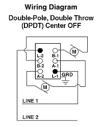 Double Pole Double Switch Wiring Diagram