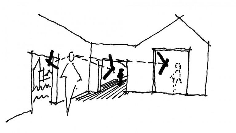 Visual connections at King's Bruton — Levitt Bernstein