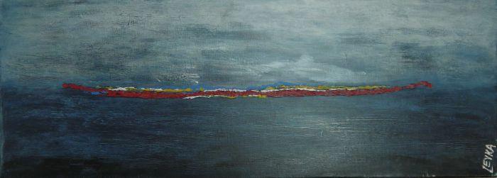 Zee van Geluk -2- 30x80
