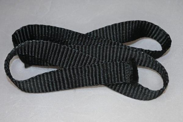 Black Leg Leash Strap