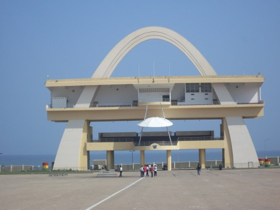 independance arch, Accra, Ghana