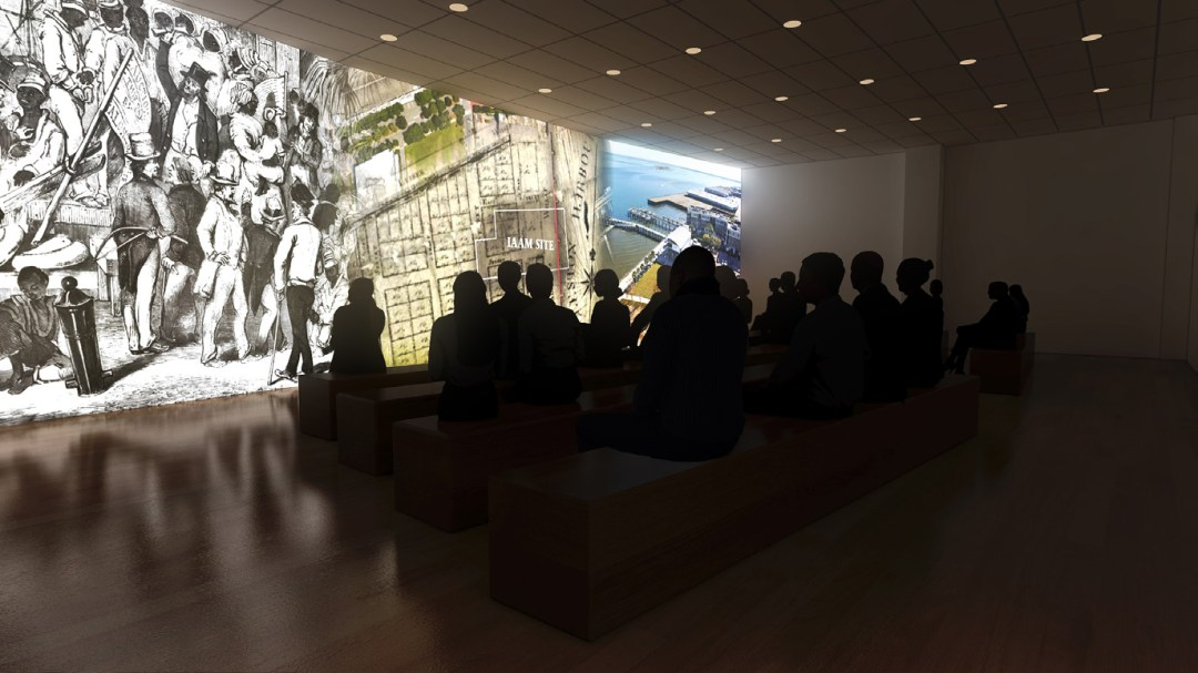 Théätre d'orientation - Musée International Africain Américain
