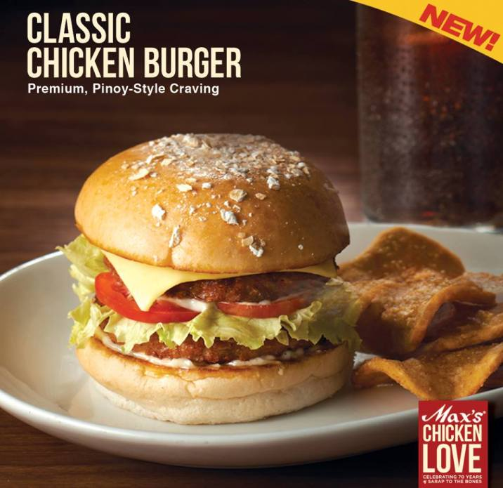 Max's Chicken Burger