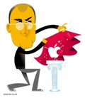 Steve Jobs Illustration by Kirsten Ulve for BusinessWeek