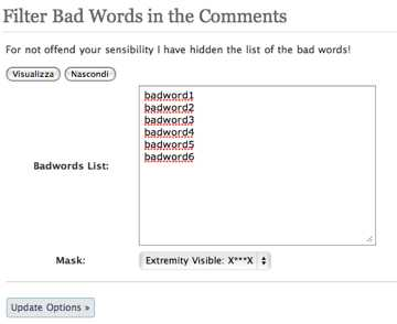 Badwords - Screenshot 2