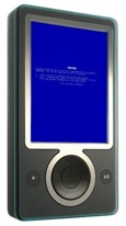 Zune Blue Screen of Death