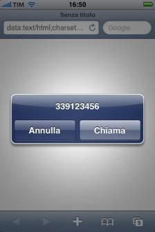 iPhone Hack Calling - 2