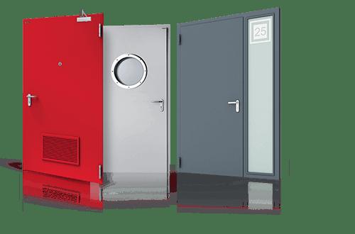 EXTERNAL SEAMLESS STEEL DOORS | LEWANDOWSKI