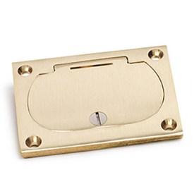 metallic floor box covers rectangular lew electric. Black Bedroom Furniture Sets. Home Design Ideas