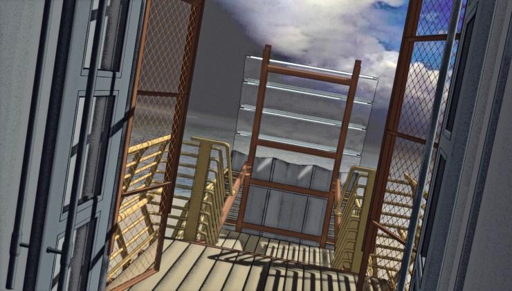 Stormhouse (2008) balcony