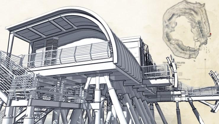 Stormhouse (2008) stairs, alternate rendering