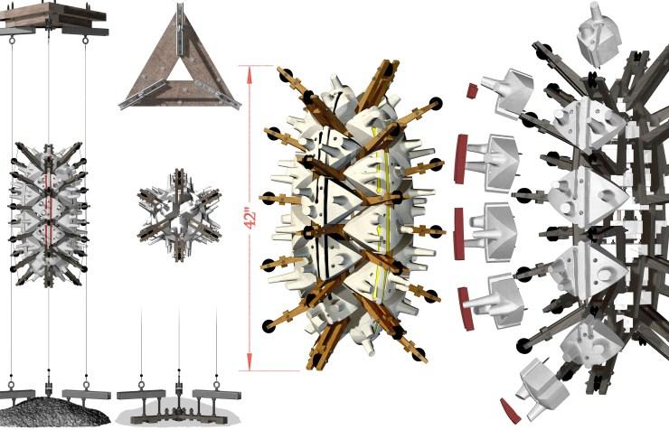 Rigsum Gonpo, schematic illustration (2018)