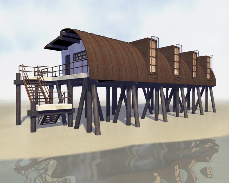 Hurricane House (2004) test render