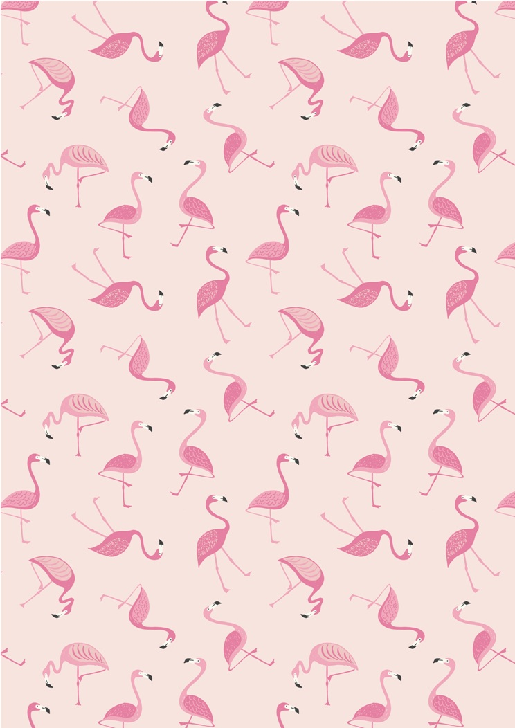 A133.2 - Flamingo on pink