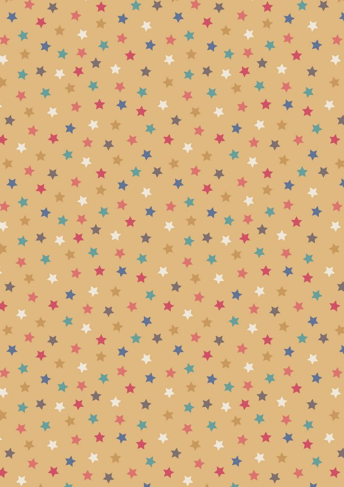 A144.2 - Little stars antique gold