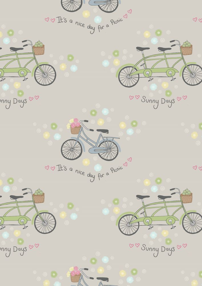 A152.3 - Bicycles on grey