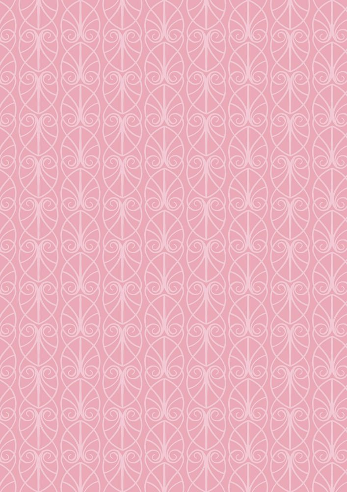A71.1 - Parisian fretwork on pink