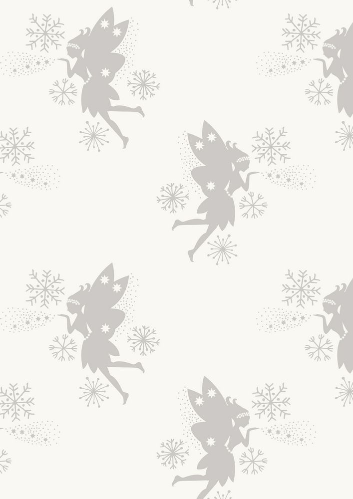 CHR7.3 - Fairies on snow (metallic)