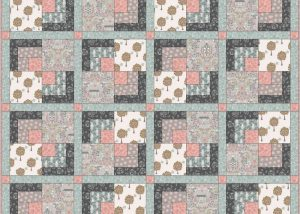 Dove house quilt design 1