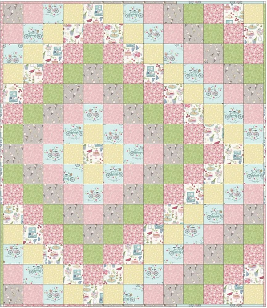 picnic in the park quilt design 1