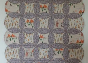 To catch a dream small quilt design