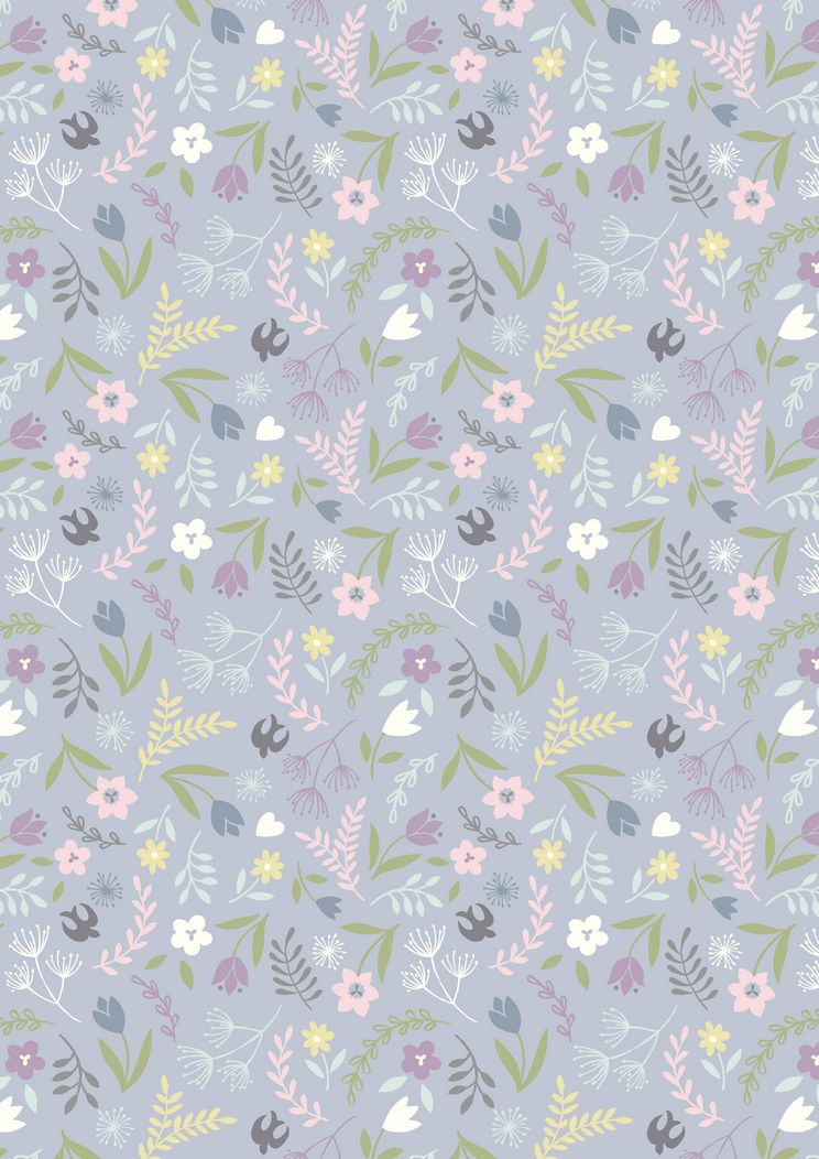 A207.2 - Swallows and blooms on lavender