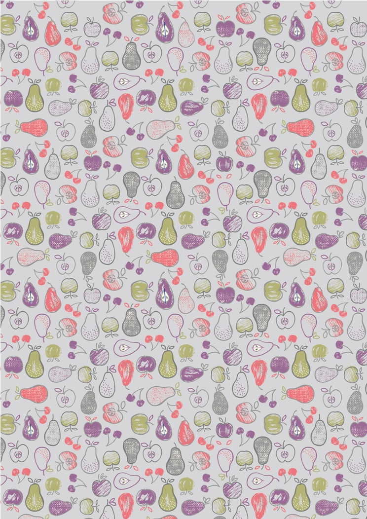 A212.2 - Fruit on light lavender
