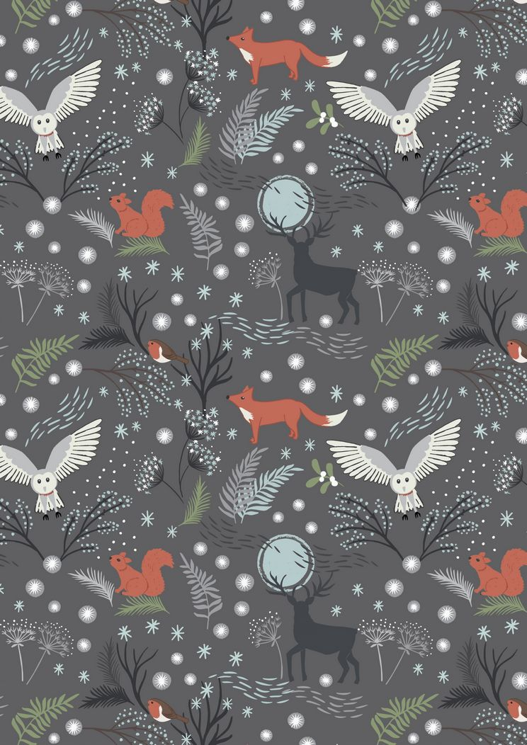C17.3 - Winter animals grey
