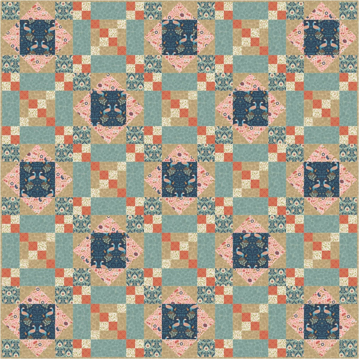 Chieveley Quilt Design 2